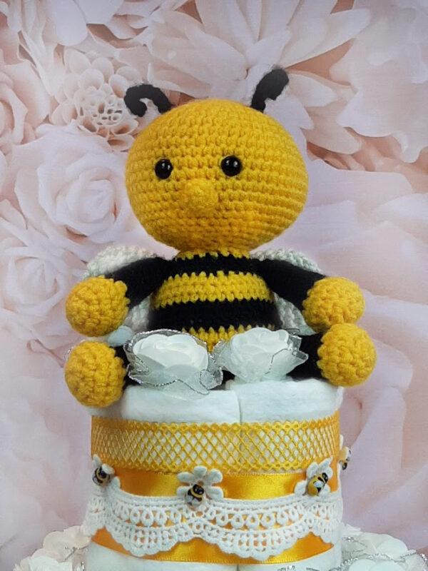 mähkmetort parim kingitus beebile amigurumi mesilasega 2
