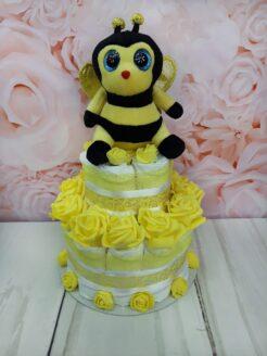 mähkmetort-parim-kingitus-beebile-kollane-mesilane-t