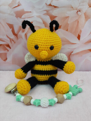 Amigurumi mesilane ja lutikett2