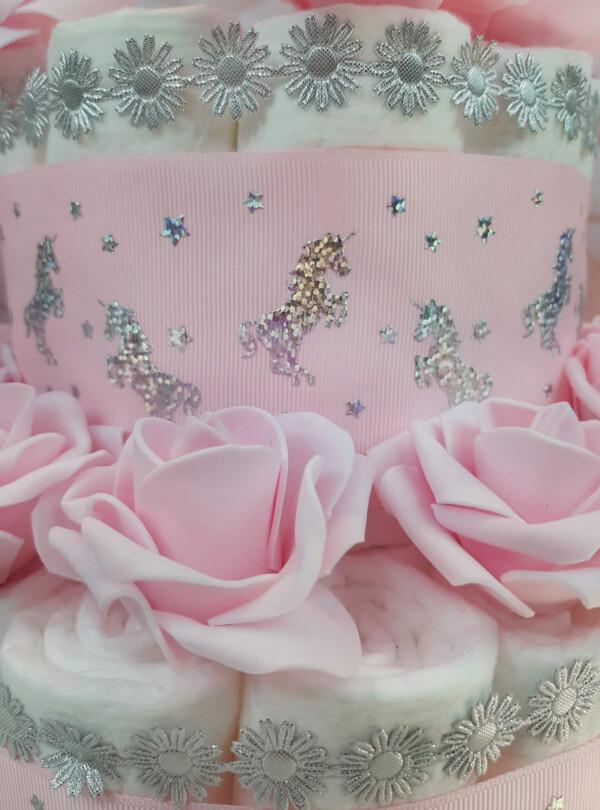 roosa mähkmetort suure ükssarvega 1
